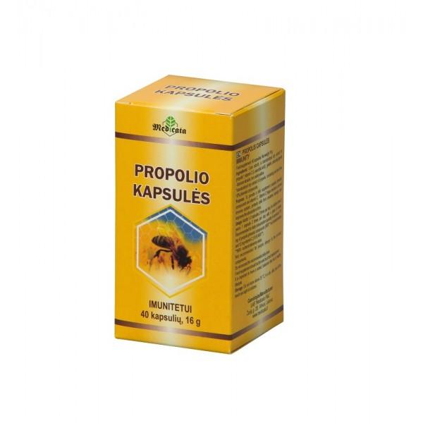 Propolio kapsulės N40