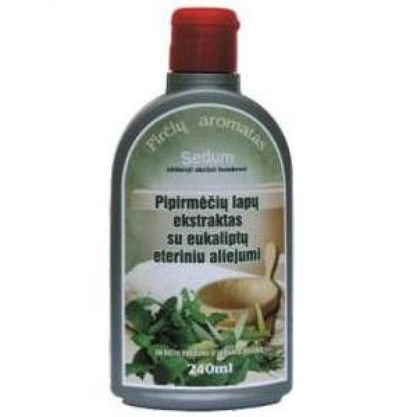 """Pipirmėčių lapų ekstraktas su eukalipto eteriniu aliejumi """"Sedum"""""""