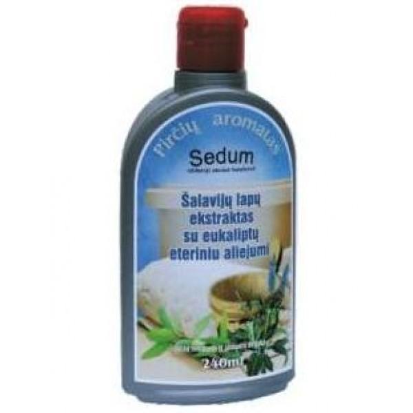 """Šalavijų lapų ekstraktas su eukaliptų eteriniu aliejumi """"Sedum"""""""