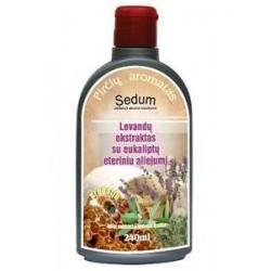 """Levandų ekstraktas su propoliu ir eukaliptų eteriniu aliejumi """"Sedum"""""""