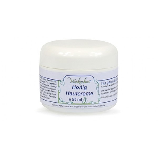 Minkenhus® Veido kremas su medumi 50 ml